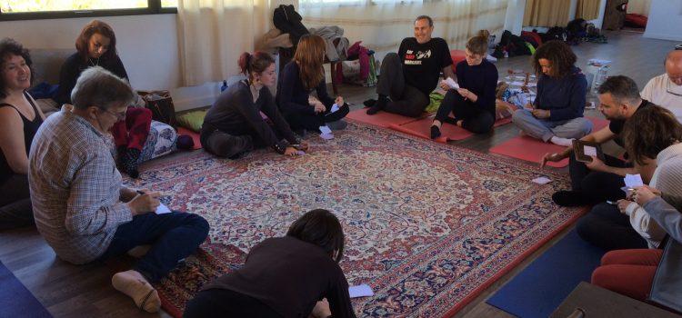 Workshop del 26 de enero del 2019 – un momento de comparto y de alegría :)