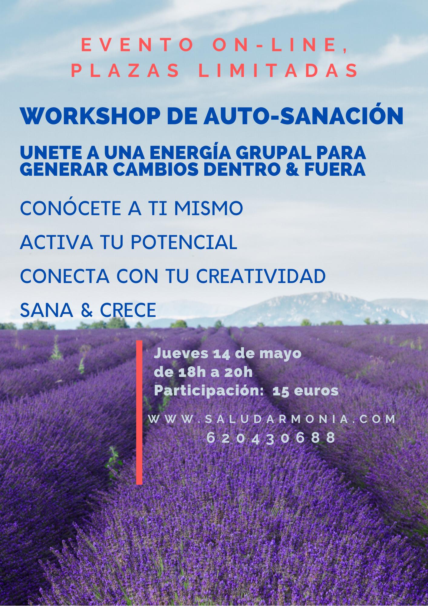 workshop Biodescodificación Estados de consciencia amplificados Consciencia corporal Energía grupal